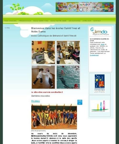 Un site Internet pour l''école